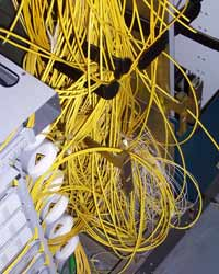 patchcord storage problems
